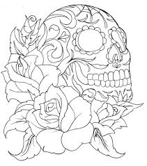 Sugar Skull Coloring Book Barnes And Noble Day Of The Dead 2 For Adults Page Printable