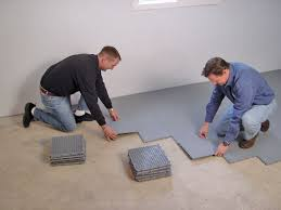 basement flooring options concrete basement sub floor tiles