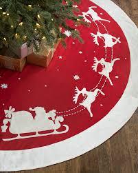 72 Inch Christmas Tree Skirts by Christmas Tree Skirts Balsam Hill