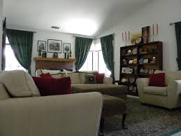 Our British Colonial Style Living Room