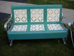 Patio Furniture Loveseat Glider by Retro Metal Patio Furniture Vintage Retro Patio Furniture 1950 U0027s