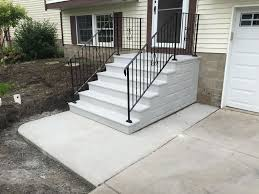 Prefab Concrete Steps Design — Prefab Homes : Good Prefab Concrete ... Best Granite Colors For Stairs Pictures Fascating Staircase Interior Design Handrails With White Wood Railing And Steps Home Gallery Decorating Ideas Garage Deck Exterior Stair Landing Front Porch Designs Minimalist House The Stesyllabus Modern Staircase Ideas Project Description Custom Design In Prefab Concrete Homes Good Small Designed Outside Made Creative 47 Wooden Images