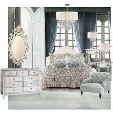 Hayworth Mirrored 3 Drawer Dresser by Vintage Luxury Polyvore