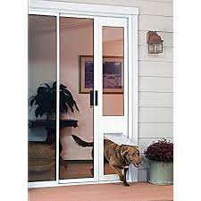 Patio White Sliding Door Security Bar by Stunning Dog Door Patio Sliding Pet Door Panel Security Bars