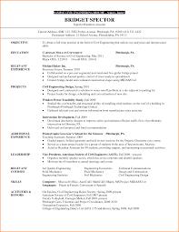 8 civil engineering internship resume skills based resume