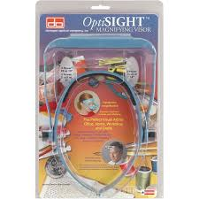 OptiSIGHT Magnifying Visor 3 Lenses Walmartcom