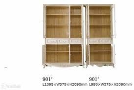 barock stil möbel wohnzimmer büro schrank regal vitrine 901