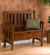 mission style bench treenovation