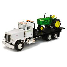 John Deere Big Farm 4020 Tractor With Peterbilt Model 367 Truck ... Tomy John Deere Carstrucks Plastic Ace Hdware 150th High Detail 460e Adt Articulated Dump Truck Toys Diecast With Skidsteer At Toystop Antique Tractor On Transport Flatbed Truck Florida Stock New Eseries Features North Americas Largest Ertl 118 Tractor Dodge 2500 V10 Dealer Pickup Farm Shop Ertl Gator Mega Hauling Set Free Shipping Salo Finland March 4 2016 Volvo Hauls W330 1955 Ford F100 Louisville Showroom Bangshiftcom Brian Lohnes Weve Found Your Perfect Peterbilt Rolloff 4020