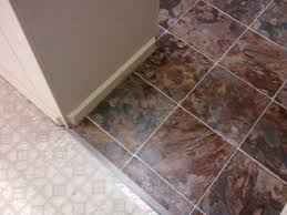 Vinyl Tile To Carpet Transition Strips by How To Install Vinyl Flooring Health And Homestead