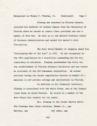 Page 1 October 14, 1963 Florida ~-> News Release CITIZENS FOR F ...