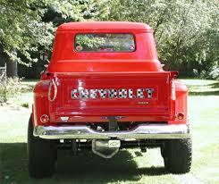 1955 CHEVROLET STEP-SIDE 4X4 CUSTOM SHOW TRUCK -
