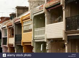 100 Sydney Terrace House Row Of Victorian Terrace Houses In The Trendy Area Of Paddington A