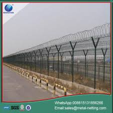 The Drawing Of Anti Climb Fence Installation Including China Airport Anti Climb Fence Airport Blast Fence Manufacturers