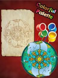 Animal Mandala Coloring Book Screenshot Thumbnail