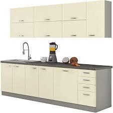 mirjan24 küche multiline iv 260 cm küchenblock küchenzeile