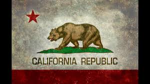 Vintage California Republic State Flag T Shirt By Bruzer Design Humans