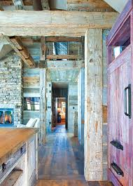 Thoughtful Design Details And A Rustic Palette Of Reclaimed Materials Give This New Cabin Near Crested