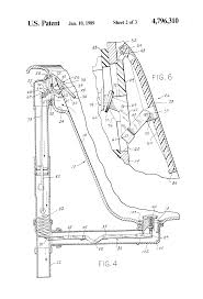 Bathtub Overflow Plate Gasket by Patent Us4796310 Bathtub Drain Valve Control And Overflow Plate