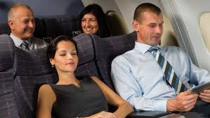 Plane passengers have every right to recline their seat on a flight