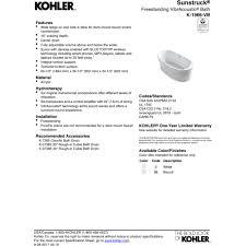 Kohler Villager Bathtub Specs by Kohler Tubs Canada Cintinel Com