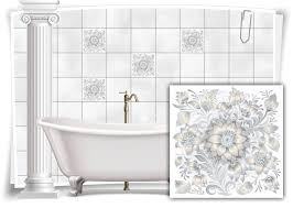 fliesen aufkleber fliesen bild kachel see grau weiß bad wc deko küche