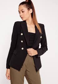 women u0027s blazers double breasted blazers missguided