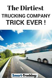 100 Worst Trucking Companies To Work For The Dirtiest Company Trick I Have Ever Heard Of