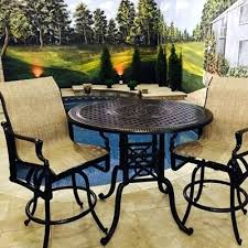 Patio Furniture Bar Height Collection Patio Bar Sets Outdoor Patio