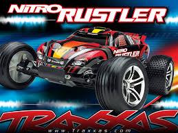 100 Traxxas Stadium Truck Nitro Rustler 110 Scale 2WD RC Car