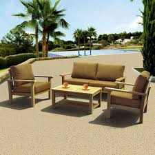Home Depot Outdoor Dining Chair Cushions by Home Decorators Collection Gabriel Bronze 4 Piece Espresso Patio