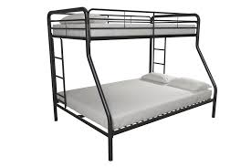 Dorel Twin Over Full Metal Bunk Bed by Dhp Furniture Twin Over Full Bunk Bed Black