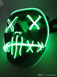 Halloween Purge 2 Mask by 2017 The Purge Election Year Mask Led Masks Halloween Masks The