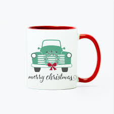 100 What Is A Tandem Truck Mug 11oz Green Christmas For Two