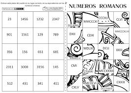 Numeros Ordinales Para Colorear E Imprimir
