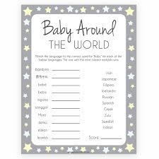 Baby Around The World Game Grey Yellow Stars In 2019