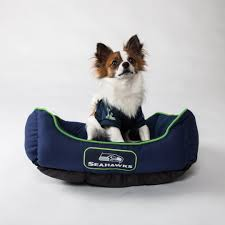 Chewproof Dog Bed by Go Team Dog Gear Nfl Dog Jerseys Dog Beds Footballs And More
