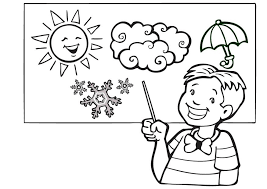 Weather Coloring Pages Pdf Free Online Printable Sheets For Kids Get The Latest Images Favorite