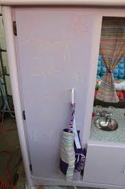 Unsanded Tile Grout Chalkboard by Krafty Mama Kas Entertainment Center Dresser Turned Kitchen