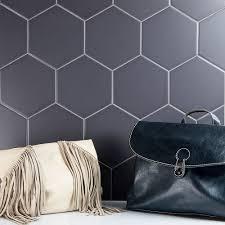 tile ideas large white hexagon tile 2 carrara marble hexagon
