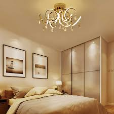 wohnkultur moderne gold k9 kristall kronleuchter decke licht luxus kronleuchter für schlafzimmer restaurant wohnzimmer dekoration