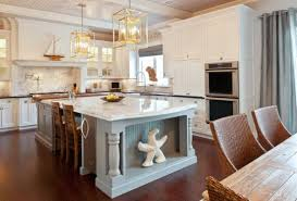 View In Gallery Giant Starfish Steals The Show This Modern Coastal Kitchen