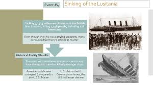 Where Did The Uss Maine Sank Map by American Neutrality And U S Entry Into World War I When Should