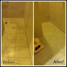 before after tile cleaning from stanley steemer tile