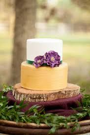 Rustic Chic Champagne And Purple Wedding Inspiration Via TheELD