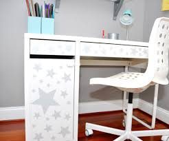 Micke Desk With Integrated Storage Assembly Instructions by How To Organize Art Supplies For Kids Plus The Easiest Ikea Hack