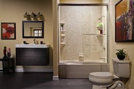recent projects of bathroom remodel handicap accessible shower
