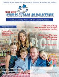 Sinking Spring Ymca Daddy Daughter Dance by Fort Bend Christian Magazine February March 2017 By Fort Bend