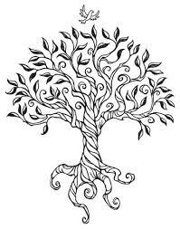 Drawn tree simple 6