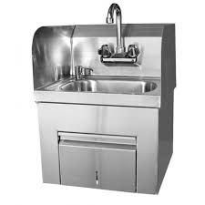 Splash Guard For Bathroom Sink by Splash Guard Hand Sink With Towel And Soap Dispenser Gsw
